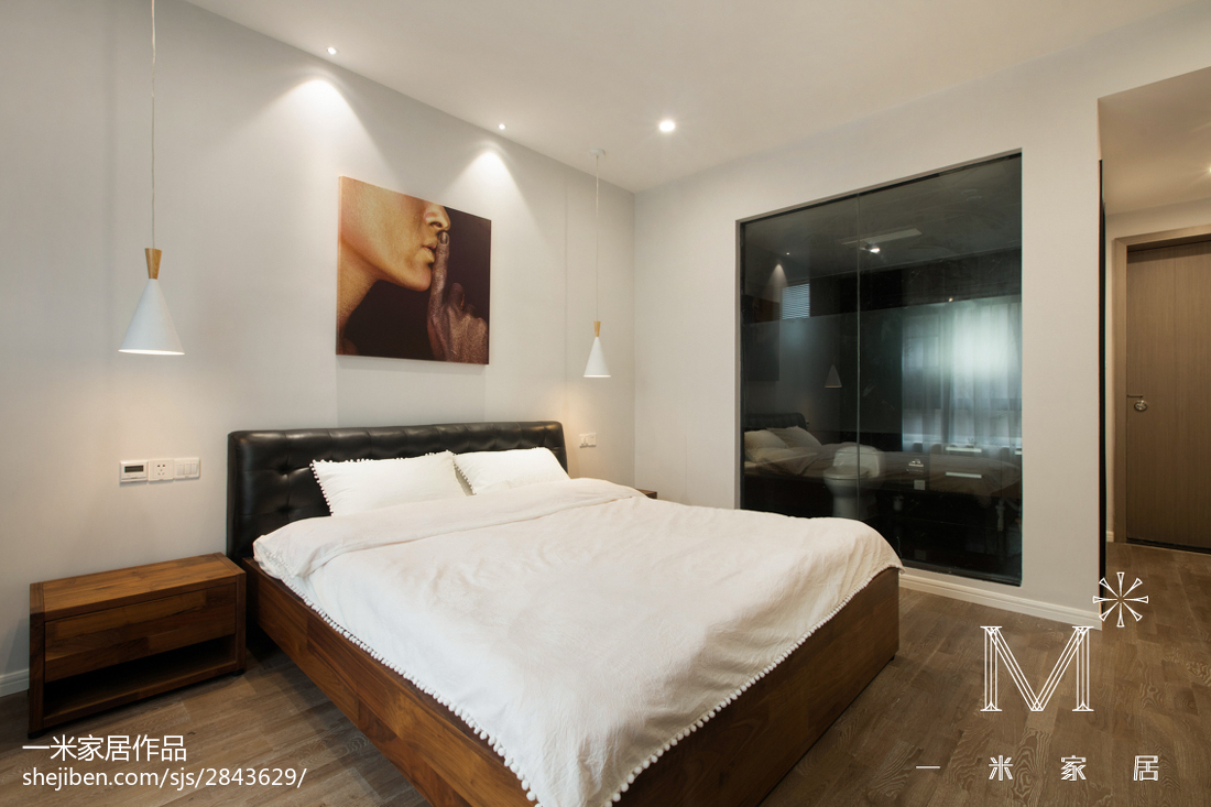 现代风格家居卧室装修图片