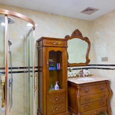 精选面积136平别墅卫生间欧式装修设计效果图
