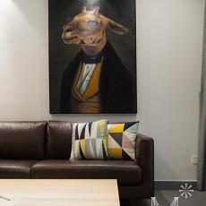 精美大小108平现代三居客厅装修效果图片欣赏