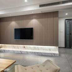 简单现代风格背景墙装修