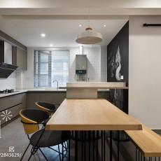 精选大小93平现代三居厨房装修实景图