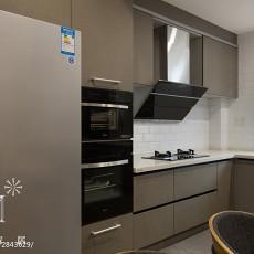 面积97平现代三居厨房装修欣赏图片