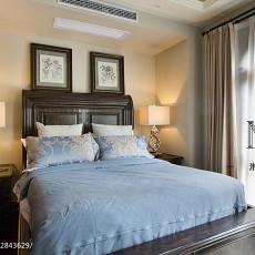 精美126平米美式别墅卧室设计效果图
