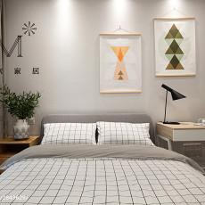 精美大小108平现代三居卧室装修图片大全