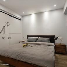 精选93平方三居卧室现代装修欣赏图