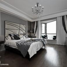 面积121平新古典四居卧室装修效果图