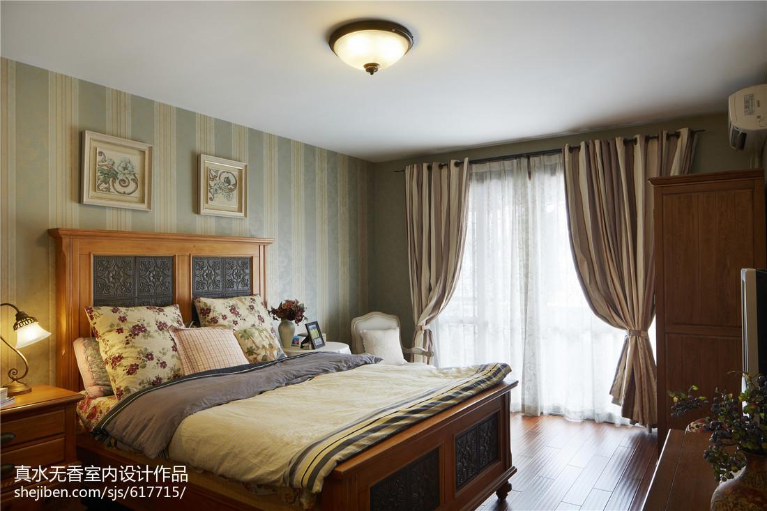 2018精选108平米三居卧室混搭效果图片大全