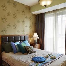 精选113平米东南亚复式卧室效果图
