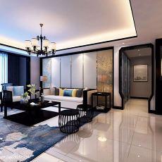精美107平方三居客厅现代装修图片欣赏
