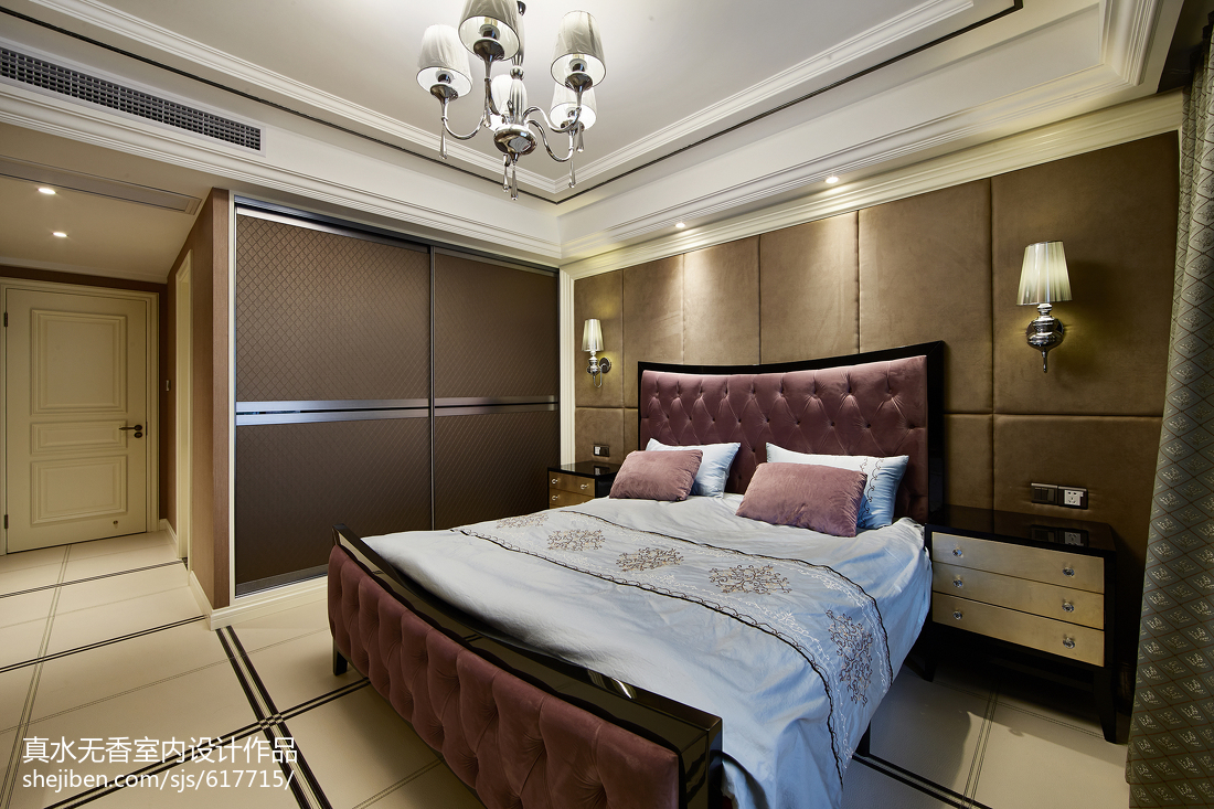 精美新古典风格卧室装修