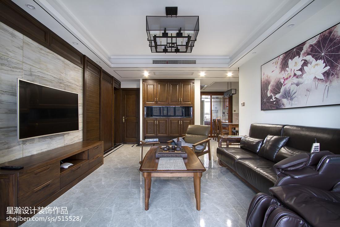 精美中式三居客厅装修效果图