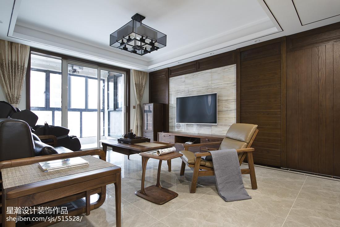 简雅中式风格背景墙设计