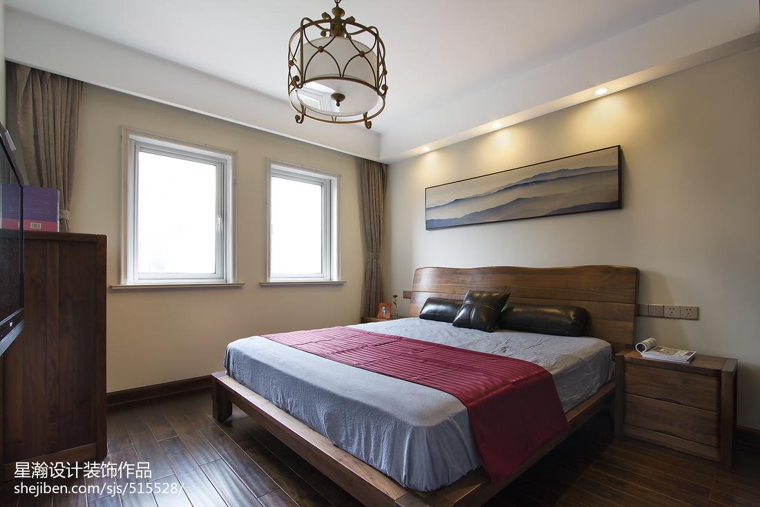 素雅中式风格卧室装修