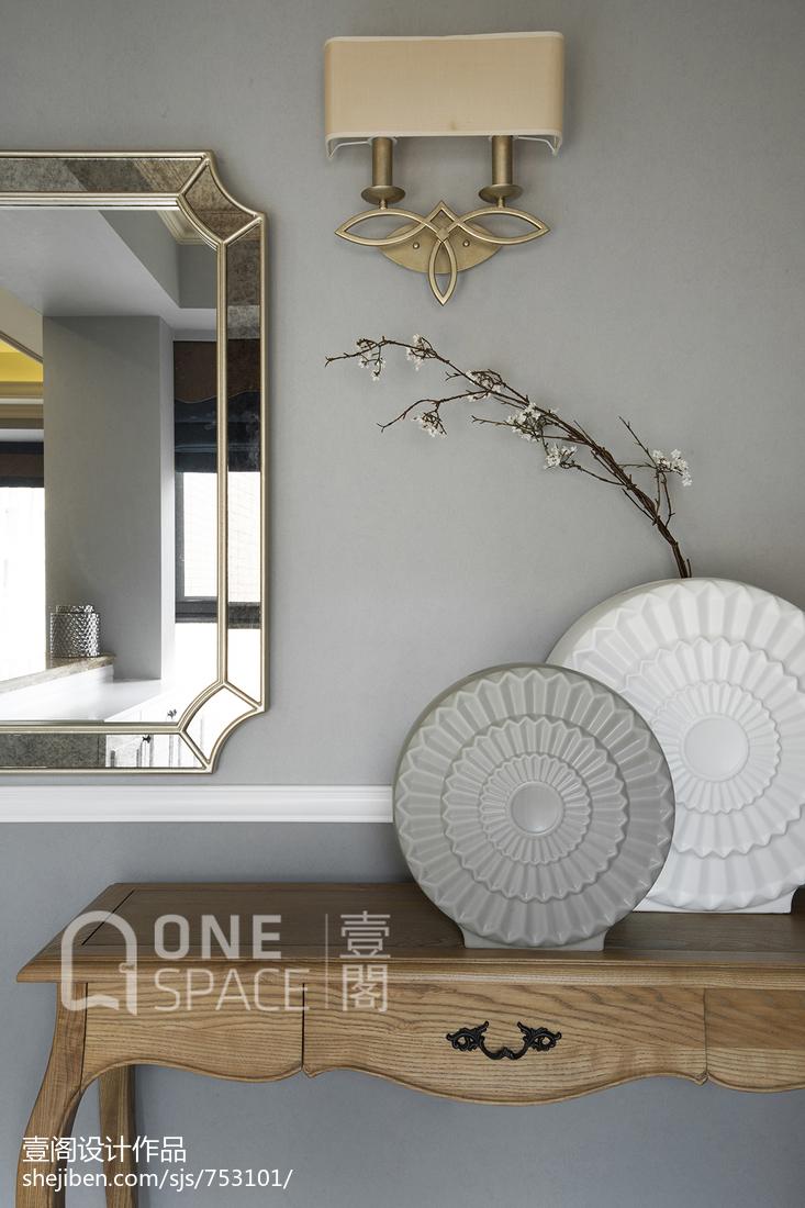 精选81平米二居客厅美式装修图