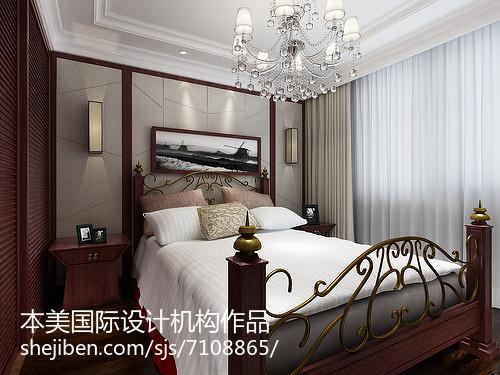 时尚个性现代风格卧室装修效果图