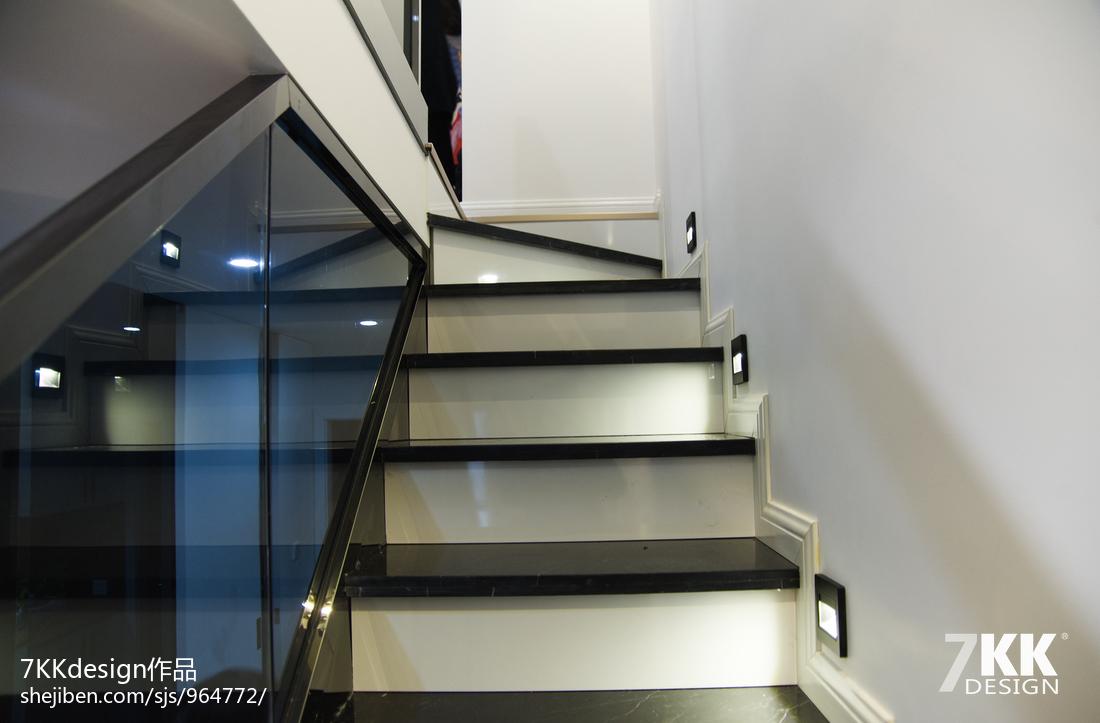 酒店式公寓炫酷黑白灰设计---同进理想城_2511900