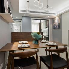 精选面积98平现代三居餐厅装修欣赏图片大全