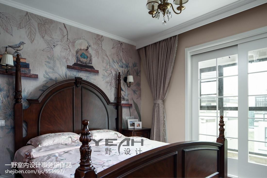 热门122平米美式复式卧室效果图片欣赏