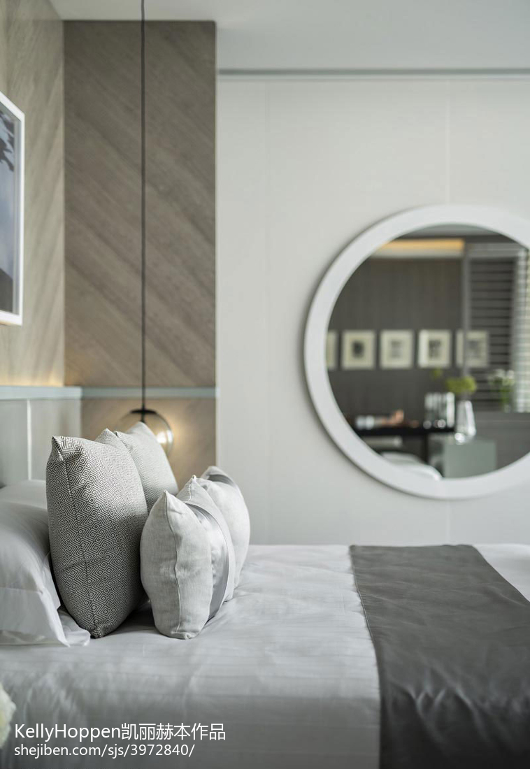 精选面积112平别墅卧室现代装修效果图片大全
