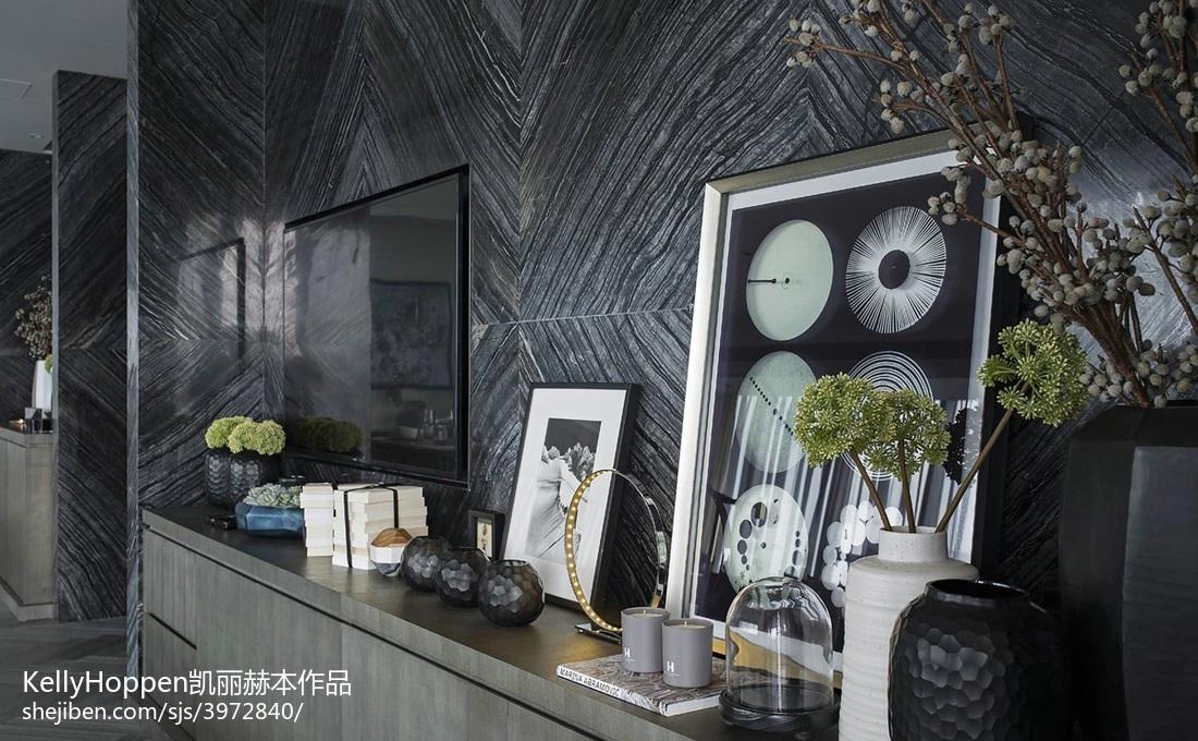 2018精选126平米现代别墅客厅装饰图