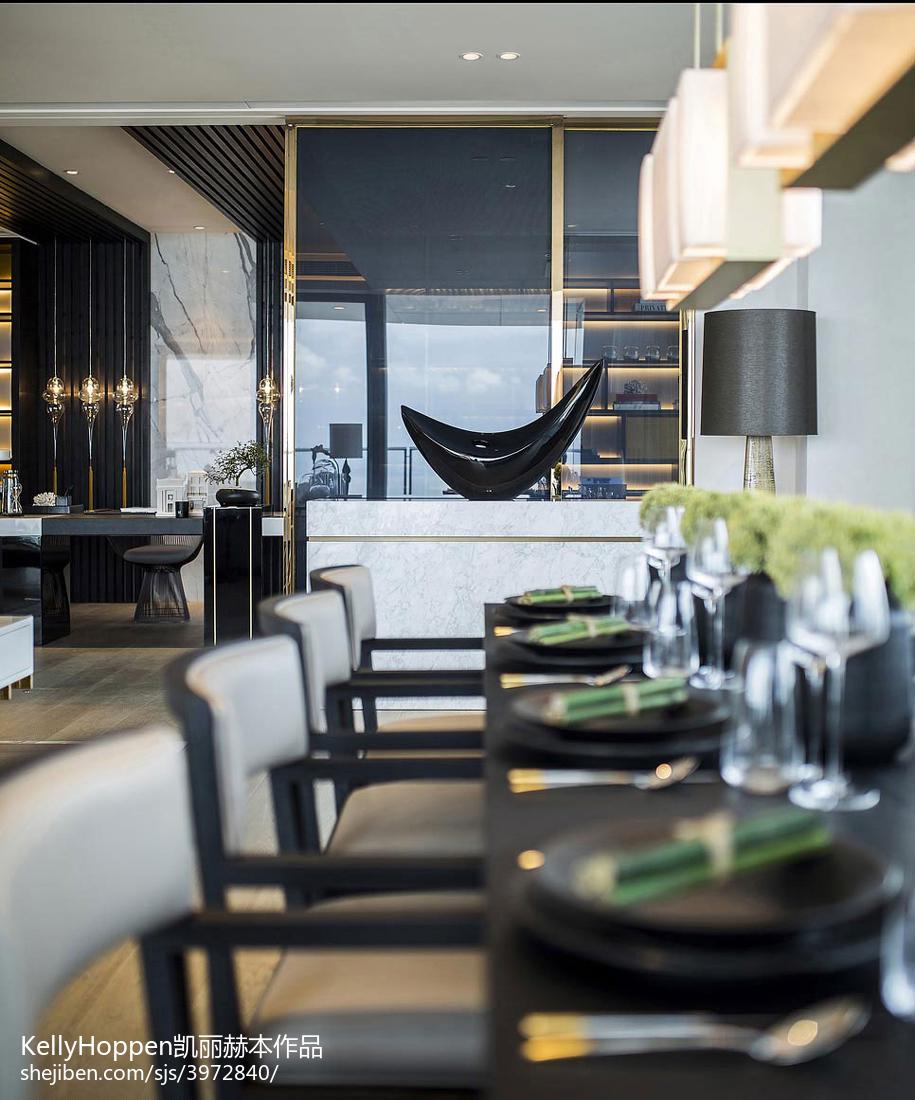 热门126平米现代别墅客厅装修设计效果图片欣赏