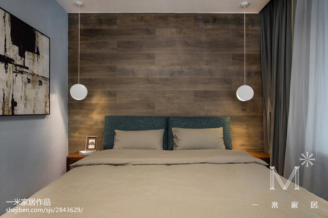热门大小92平现代三居卧室欣赏图片大全
