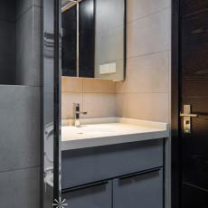 精选96平米三居卫生间现代装修实景图片欣赏