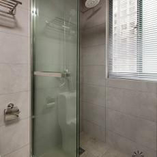 2018现代三居卫生间装修效果图片欣赏