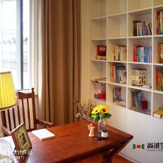 热门美式别墅书房装修实景图片