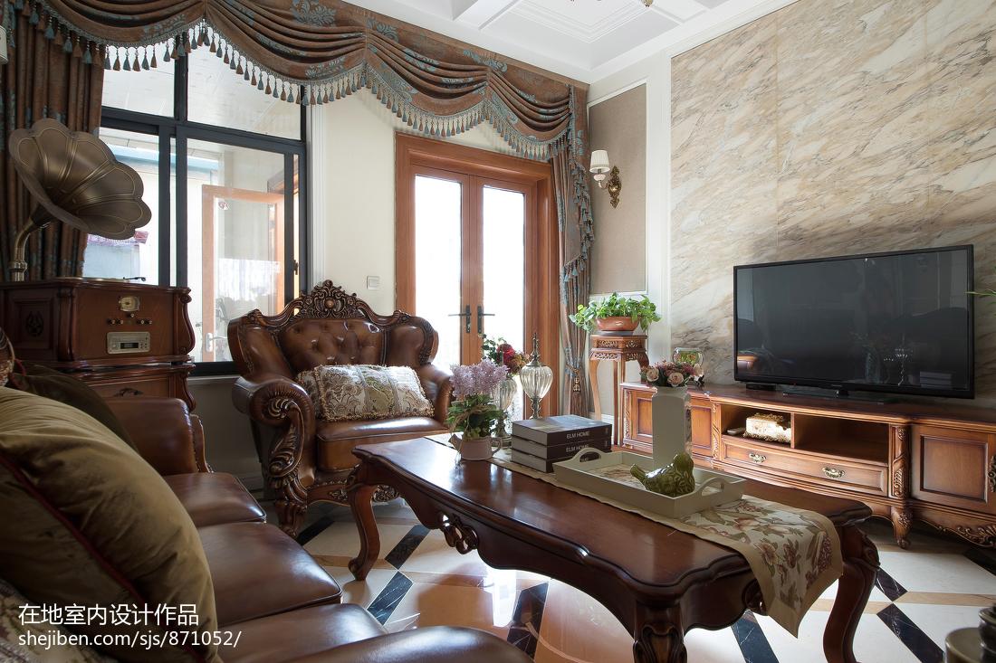 古典欧式风格客厅设计