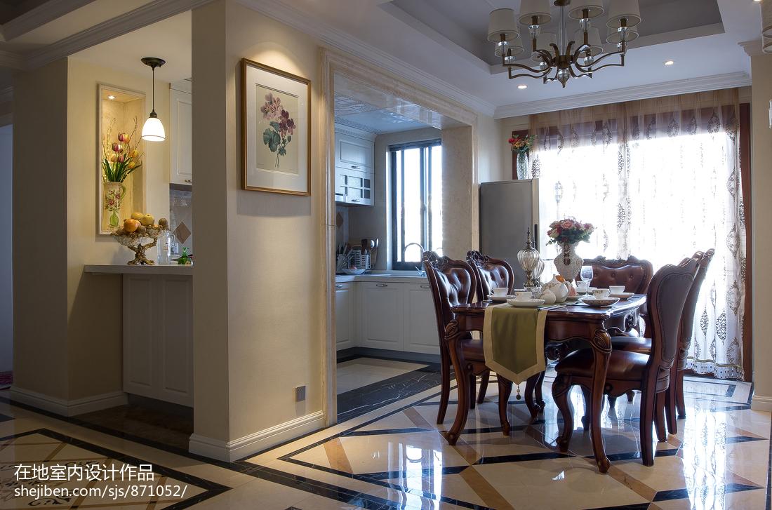 精美133平米欧式复式餐厅效果图片大全