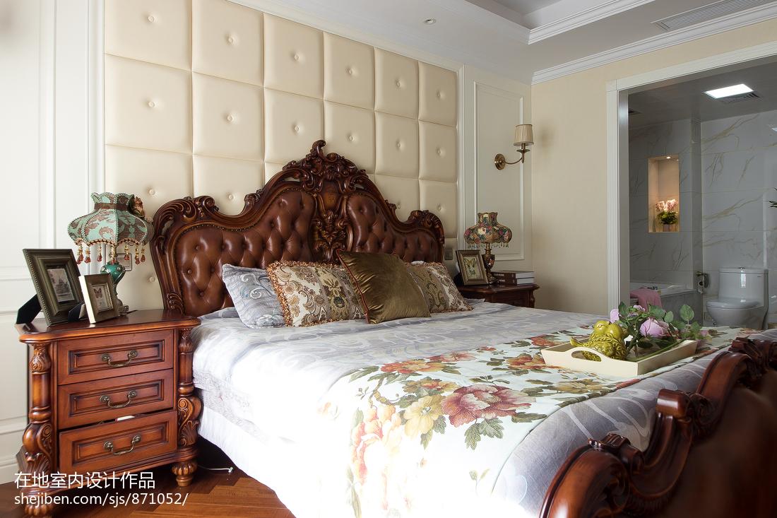 精选面积117平复式卧室欧式实景图片欣赏
