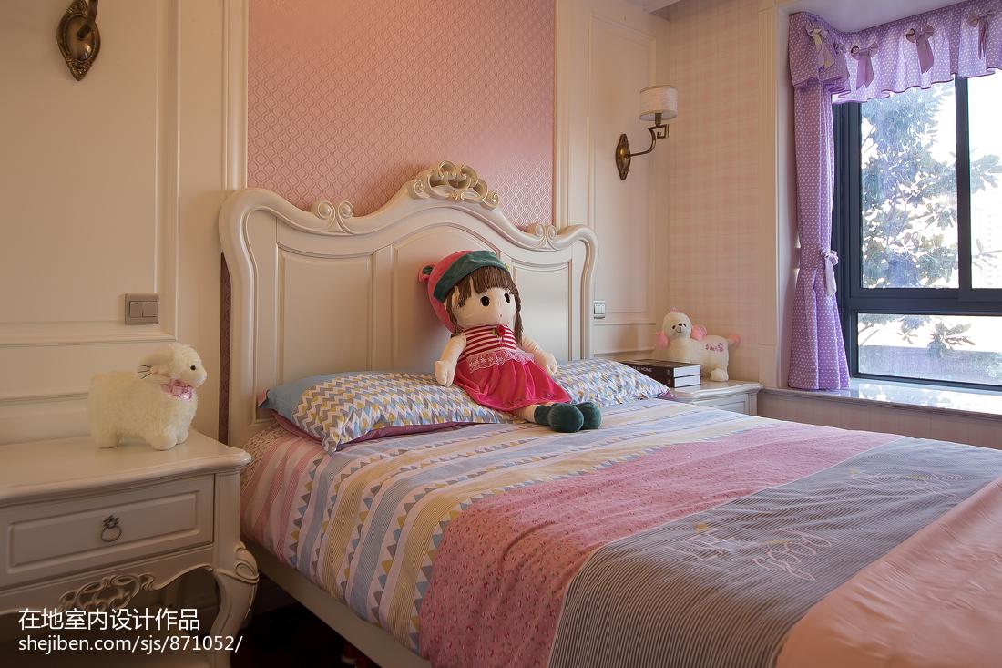古典欧式风格儿童房设计效果图