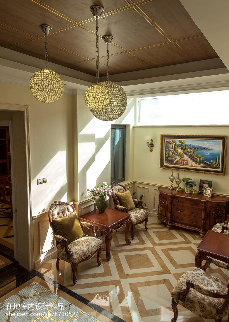 家装欧式风格复式地下室设计