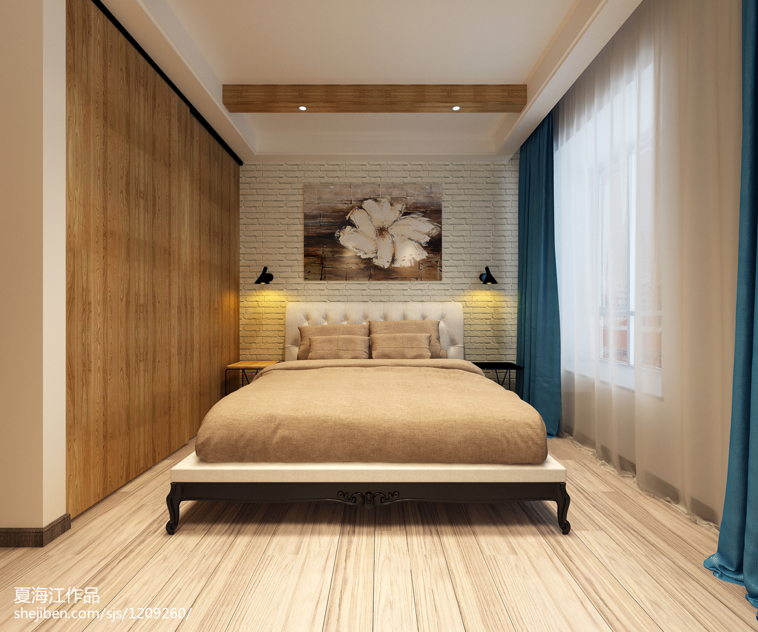 波普混搭卧室设计装饰