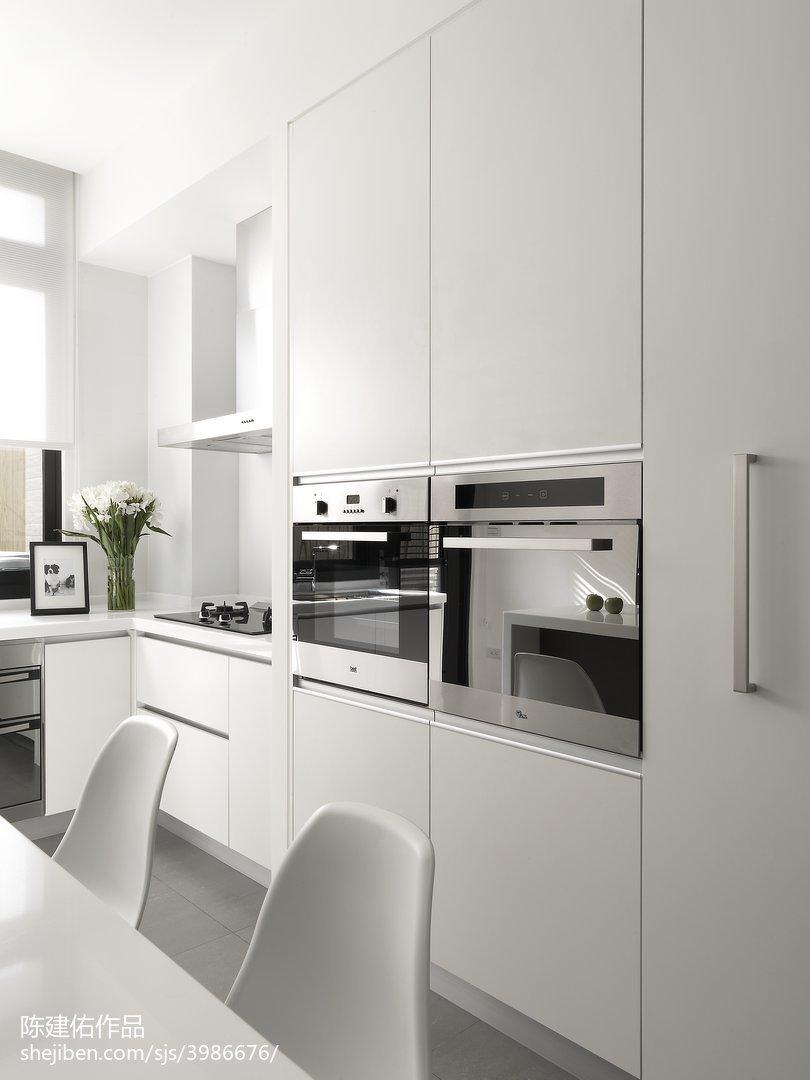 2018精选134平米现代别墅厨房效果图片
