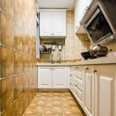 2018精选81平米二居厨房美式装修效果图