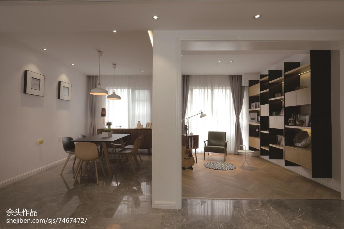 精美面积142平别墅餐厅现代效果图片