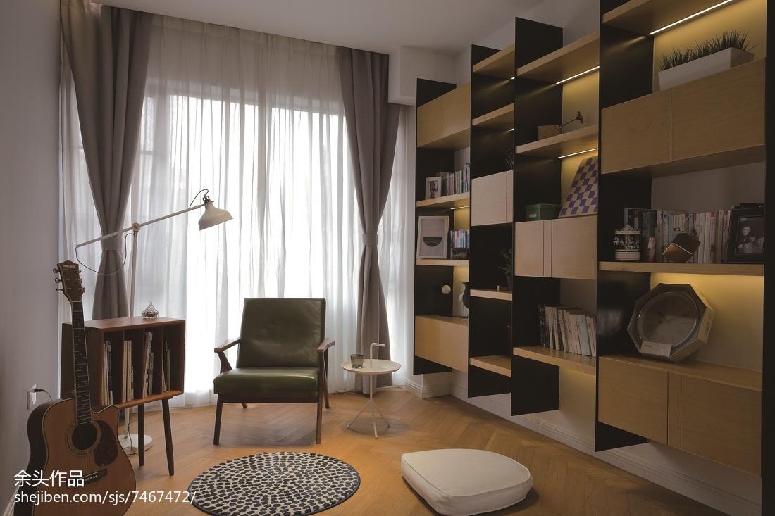 现代风格别墅书房设计效果图