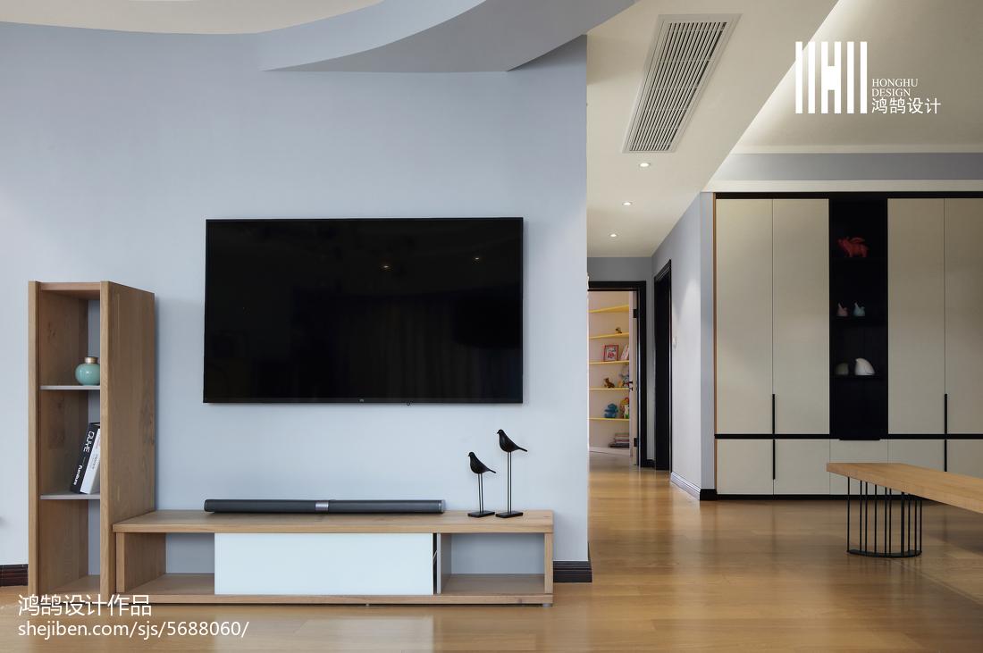 精美90平方三居客厅现代装饰图片大全
