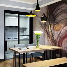 2018现代三居餐厅装修设计效果图片欣赏