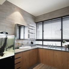 优雅103平现代三居卫生间装修图片
