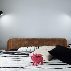 热门97平米三居卧室现代欣赏图片