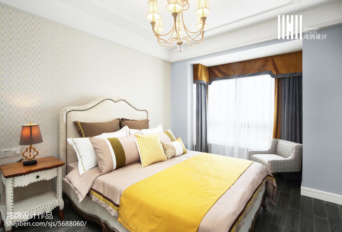 优雅混搭风格卧室设计效果图