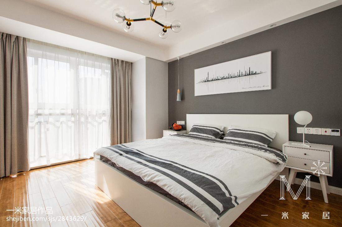 精美117平北欧三居装修设计图