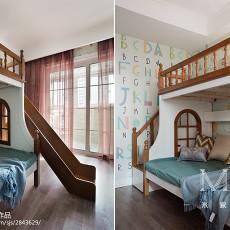 精美108平米三居儿童房新古典装修效果图片