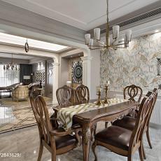 精美100平米三居餐厅新古典装修欣赏图片大全