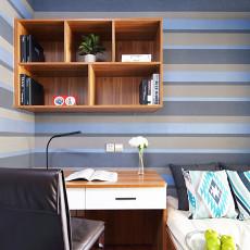 精美70平米二居书房现代装饰图片欣赏