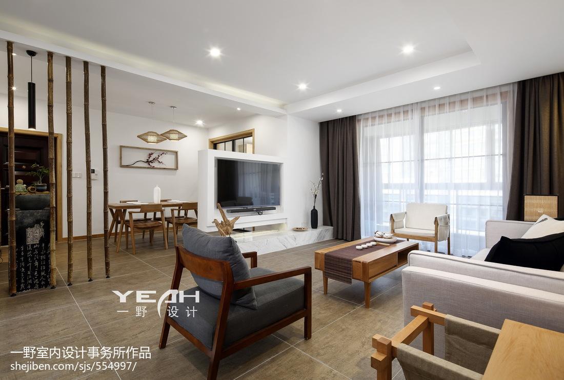 禅意日式客厅设计案例