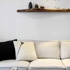 2018三居客厅日式装饰图